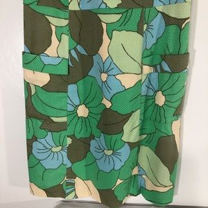 Boden Dresses - Boden tank floral weave pattern dress w/ pockets